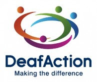 Deaf Action Logo