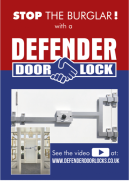 Defender Door Locks Logo