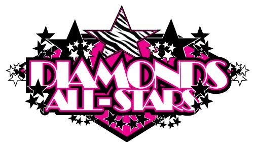 Diamonds All-Star Cheerleading Logo