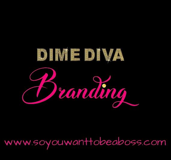 Dime Diva Branding Logo