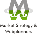 Market Strategy and Webplanners Logo