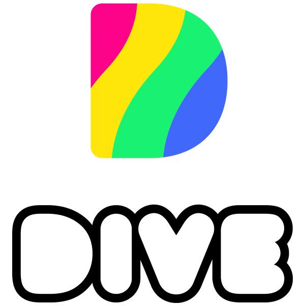 Dive - Do More Than Just Watch Logo