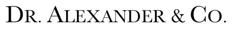 Dr. George John Alexander Logo
