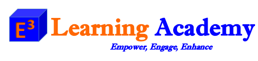E3LearningAcademy Logo
