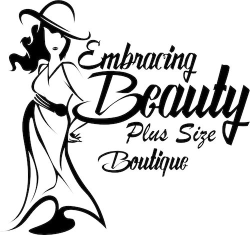 Embracing Beauty Plus Size Boutique Logo