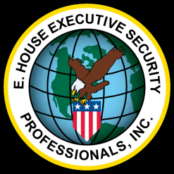 E. House Executive Security Professionals, Inc. Logo