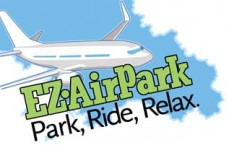 EZ Air Park Airport Parking Lot Logo