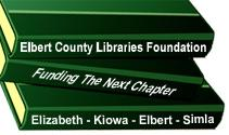 Elbert County Libraries Foundation Logo