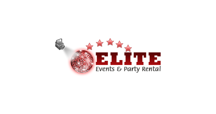 Elite Events & Party Rentals Logo