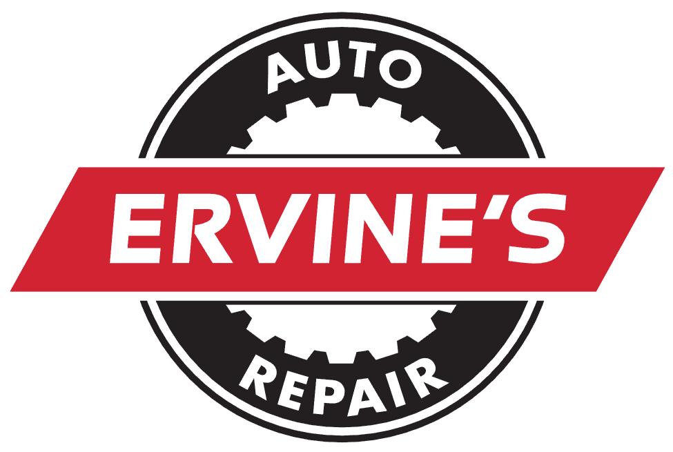 Ervine's Auto Repair Logo