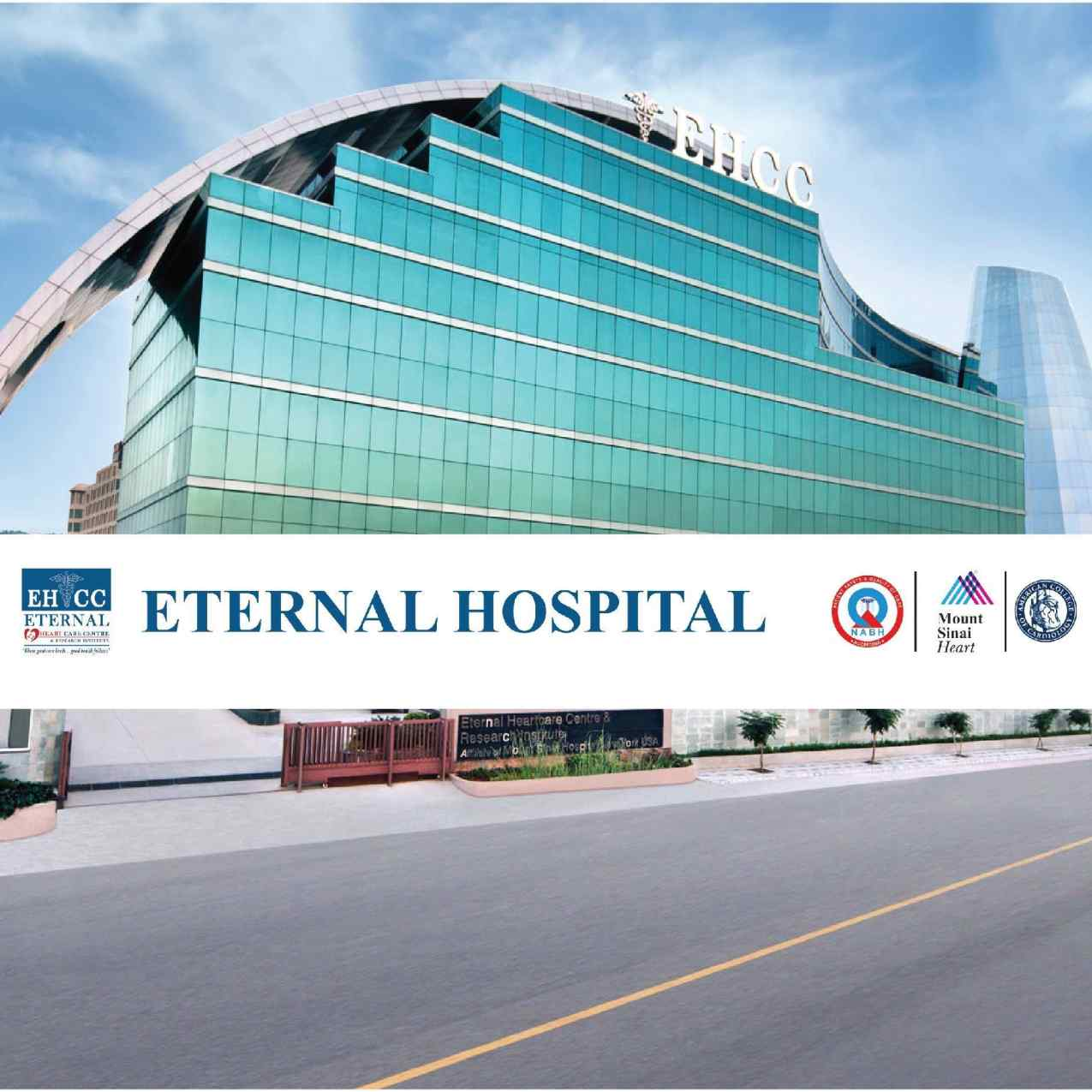 Eternal Multi Specialities Hospital Logo