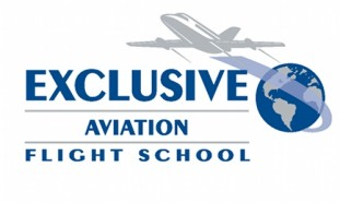Exclusive Aviation Flight School Logo