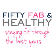 Fifty Fab And Healthy Logo