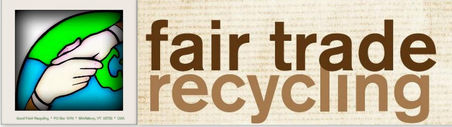 Fair Trade Recycling [WR3A] Logo