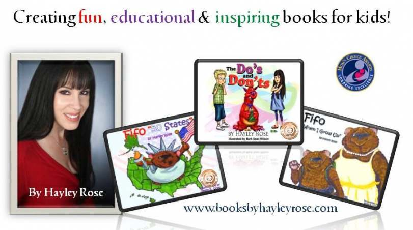 Books by Hayley Rose Logo