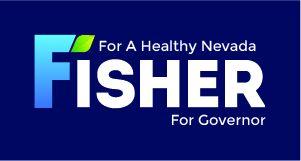 FisherForNevada Logo