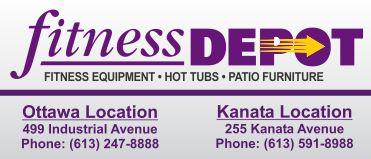 Fitness Depot Ottawa-For Premier Fitness Equipment Logo