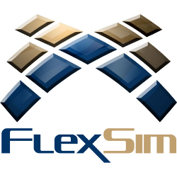 FlexSim Software Products Logo