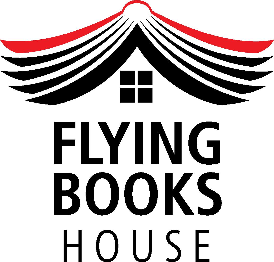 Flying Books House Logo