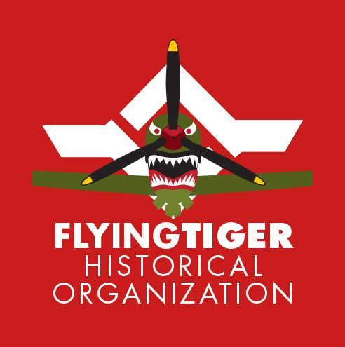 Flying Tigers Historical Organization Logo