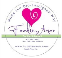 Foodie Amor All Natural Bakery Logo