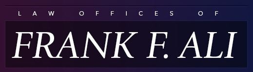 Law Offices of Frank F. Ali Logo