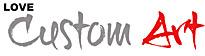 Love Custom Art Logo