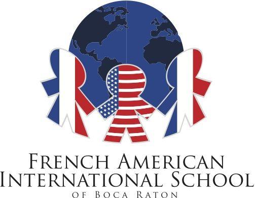 French American International School of Boca Raton Logo