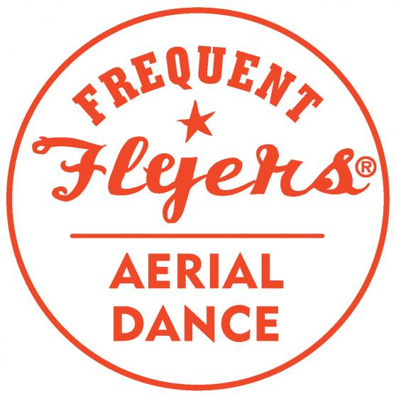 Frequent Flyers Aerial Dance Logo