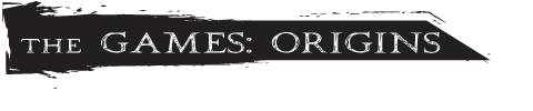 The Games: Origins Logo