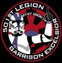 Garrison Excelsior of the 501st Legion Logo