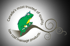 Gecko Massage Supply Co Logo