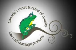 Gecko Massage Supply Co Logo