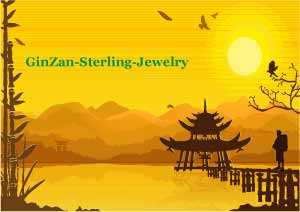 GinZan-Sterling-Jewelry Logo