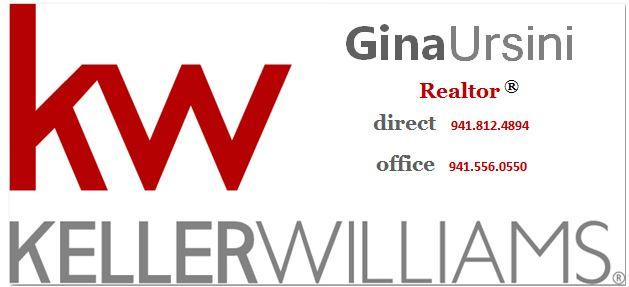 Gina Ursini - Keller Williams Realty Logo