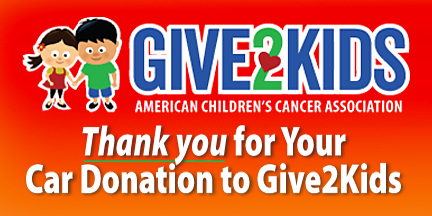 Give2Kids - American Children's Cancer Association Logo