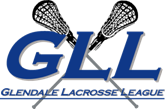 Glendale Lacrosse League Logo