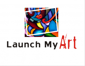 Launch My Art Logo
