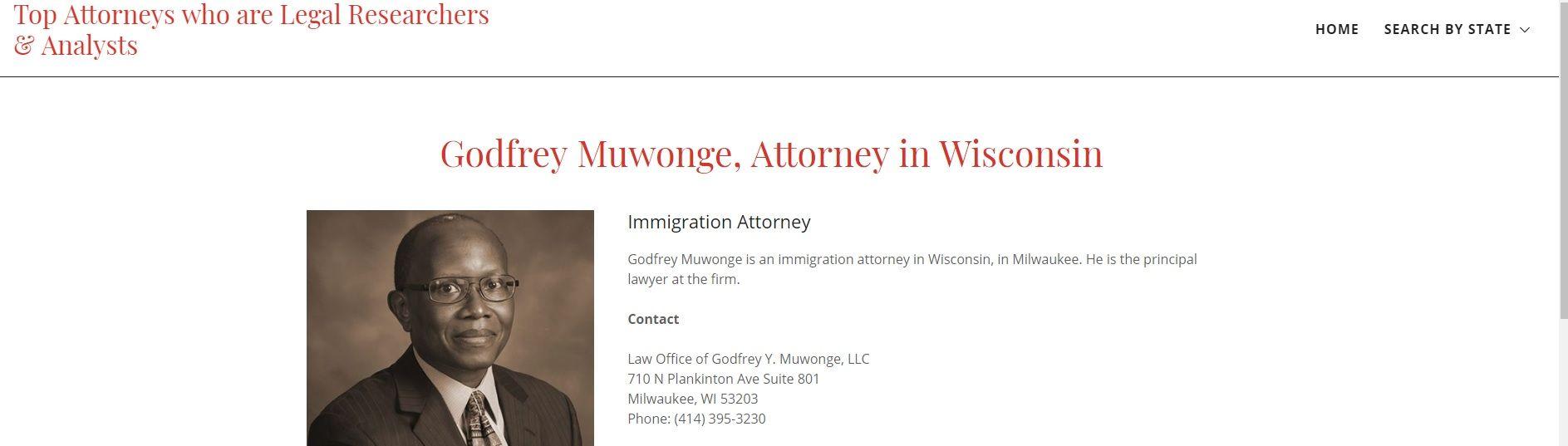 Law Office of Godfrey Y. Muwonge, LLC Logo
