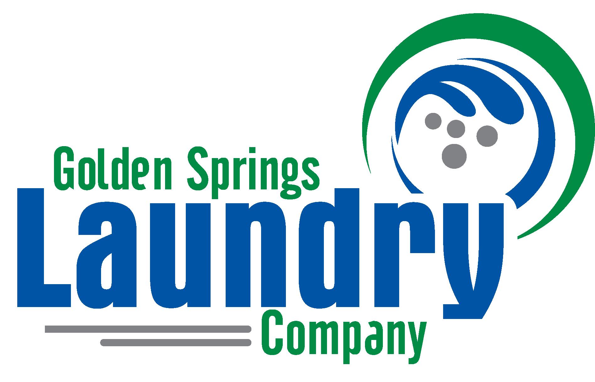 Golden Springs Laundry Company Logo