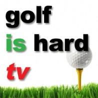 Golf is Hard TV Logo