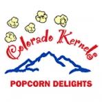 Colorado Kernels Popcorn Delights Logo