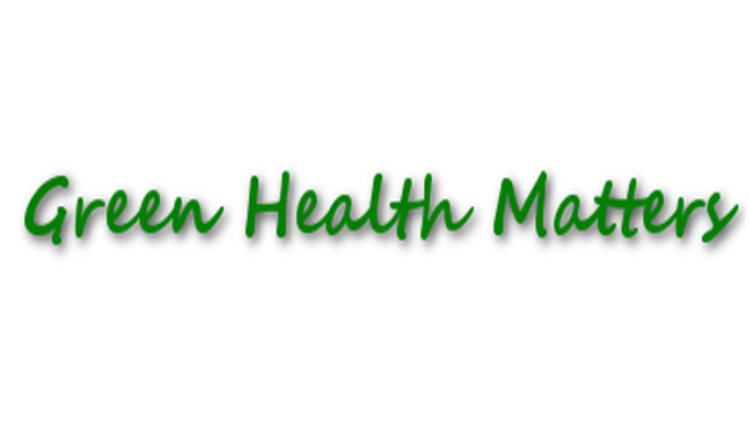 Green Health Matters Logo