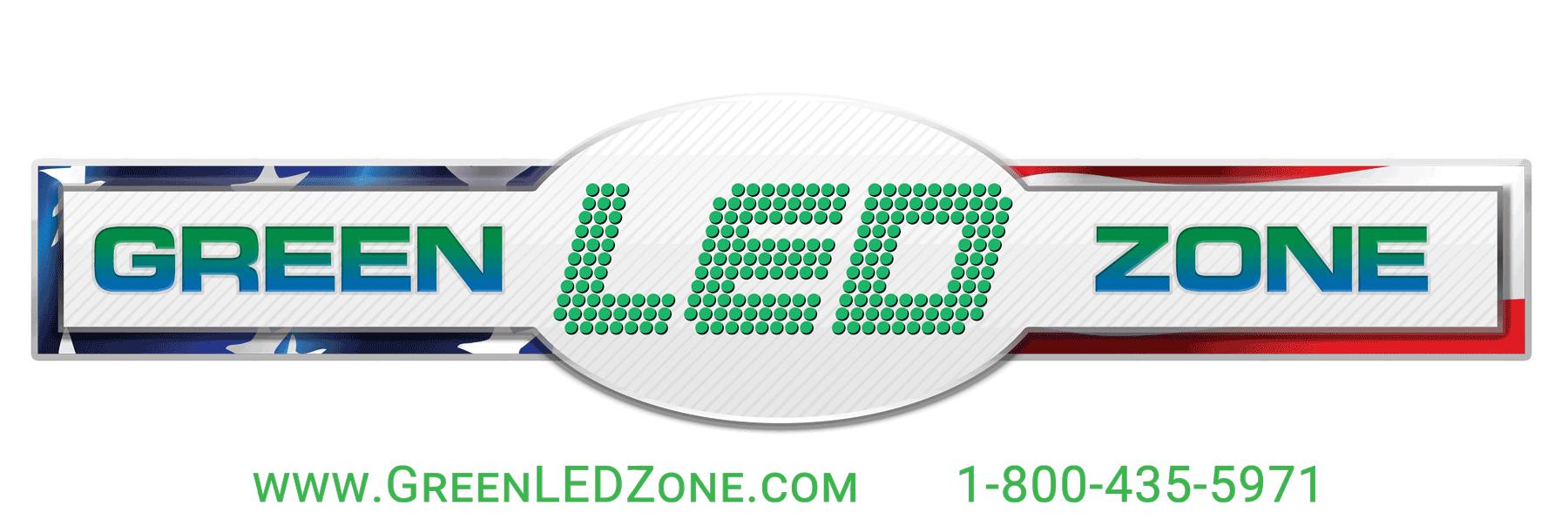 Green LED Zone Logo