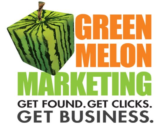 Green Melon Marketing Logo