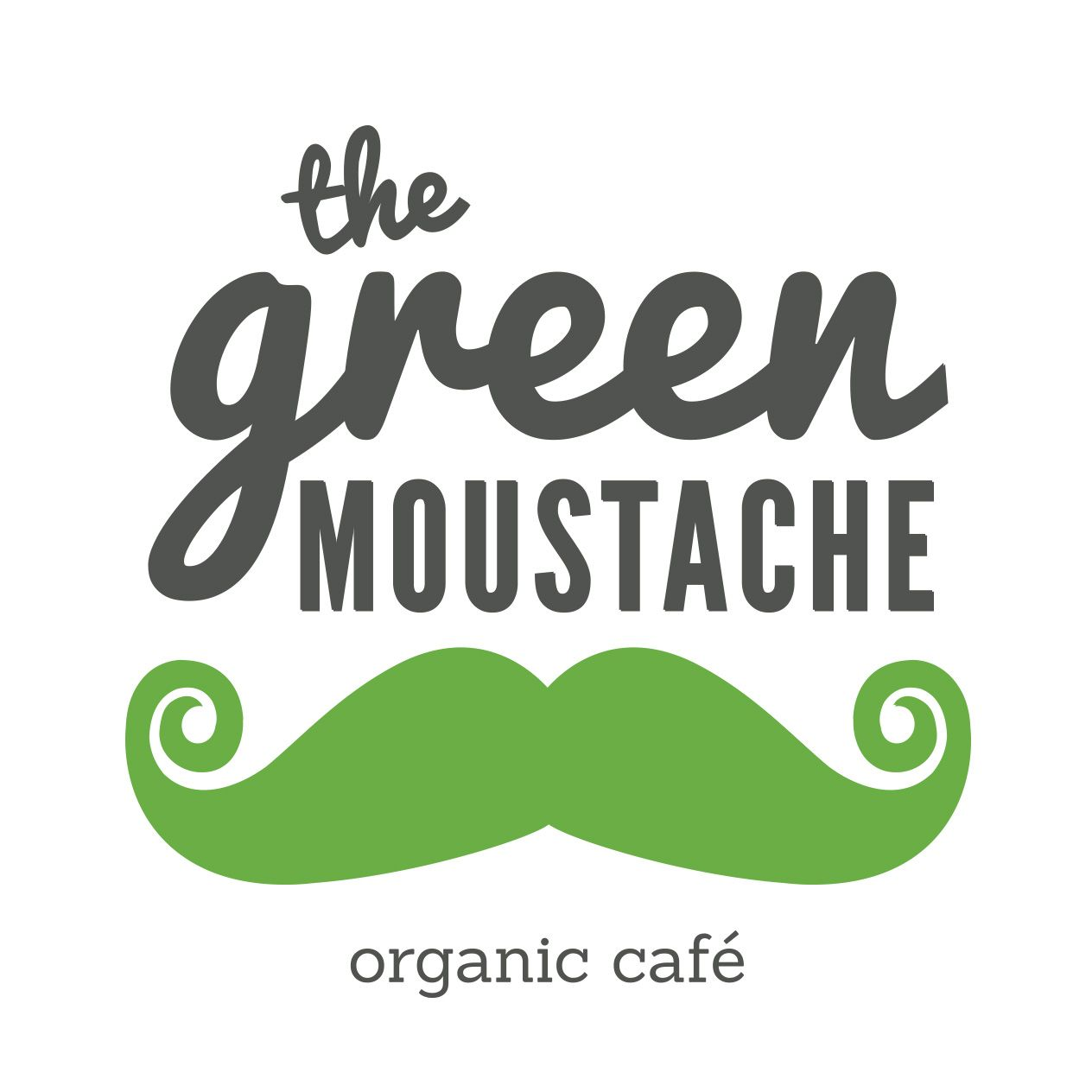 The Green Moustache Juice Co. Inc. Logo
