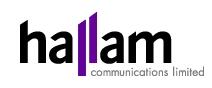 Hallam Internet Logo