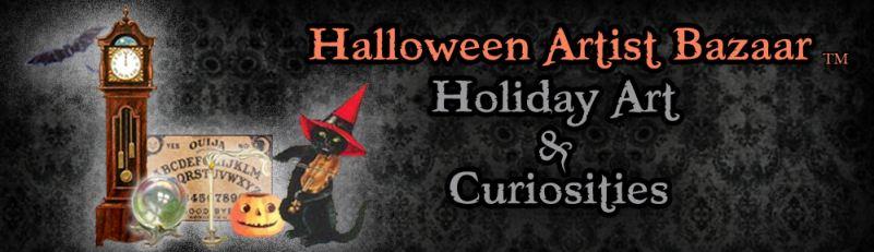 Halloween Artist Bazaar Logo