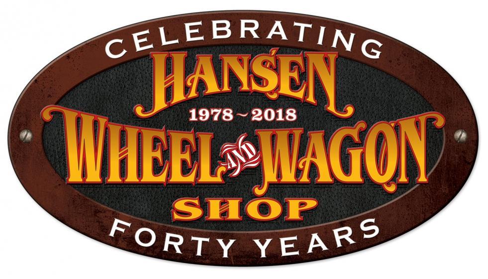Hansen Wheel & Wagon Shop Logo