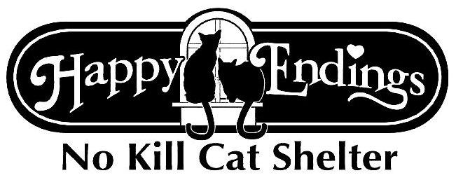Happy Endings No Kill Cat Shelter Logo